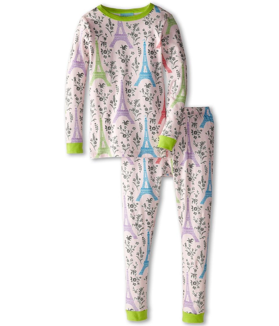 BedHead Kids - Snug Fit L/S Classic PJ (Toddler/Little Kids) (Multi Eiffel Tower) Girl's Pajama Sets