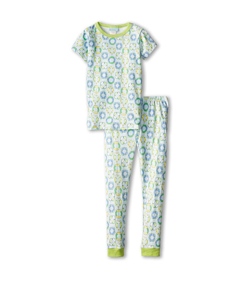 BedHead Kids - Short Sleeve Snug PJ (Toddler/Little Kids) (Blue Lifesavers) Kid