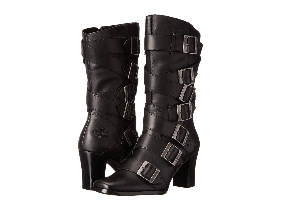 Harley-Davidson - Leslie (Black) Women's Zip Boots