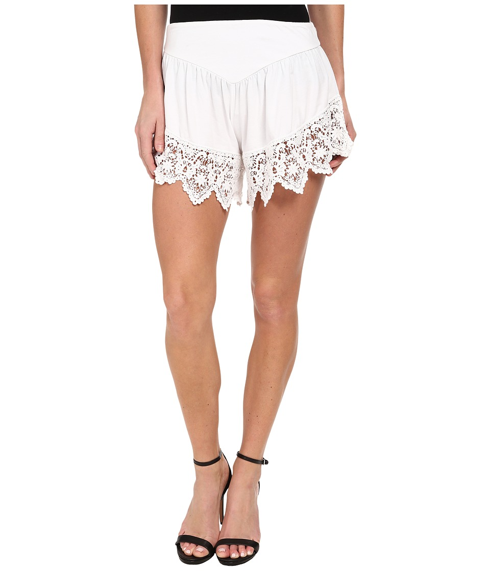 Nightcap - Lounge Short (White) Women's Shorts