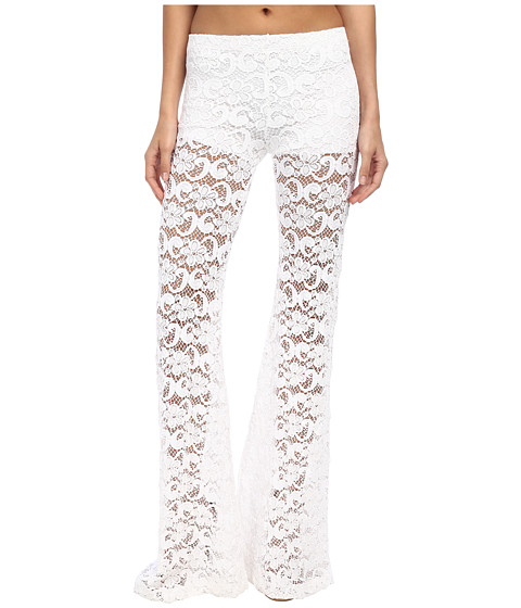 Nightcap - Dixie Lace Bells (White) Women's Casual Pants