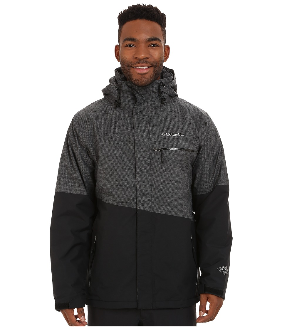 Columbia - Piste Beast Jacket (Black) Men's Coat