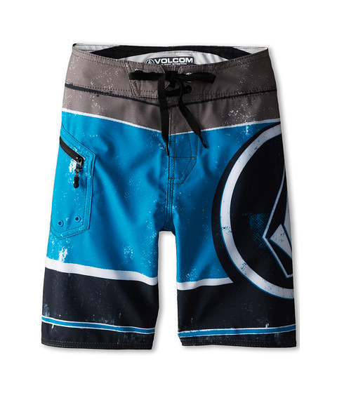 Volcom Kids - Lido Ion Boardshort (Big Kids) (Black) Boy's Swimwear