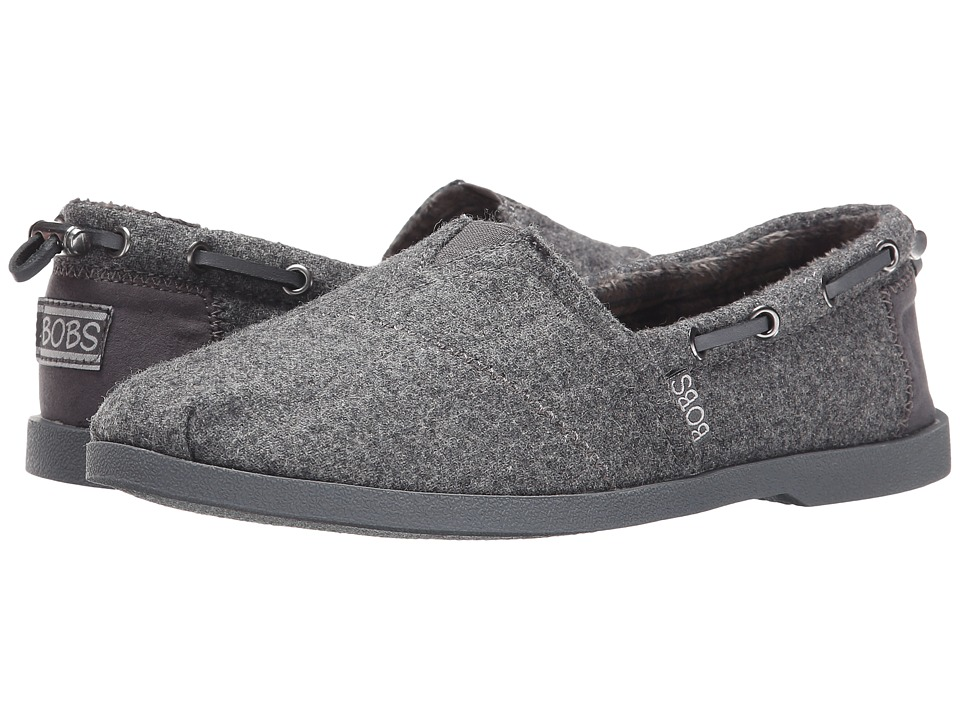 BOBS from SKECHERS Chill Luxe (Charcoal) Women