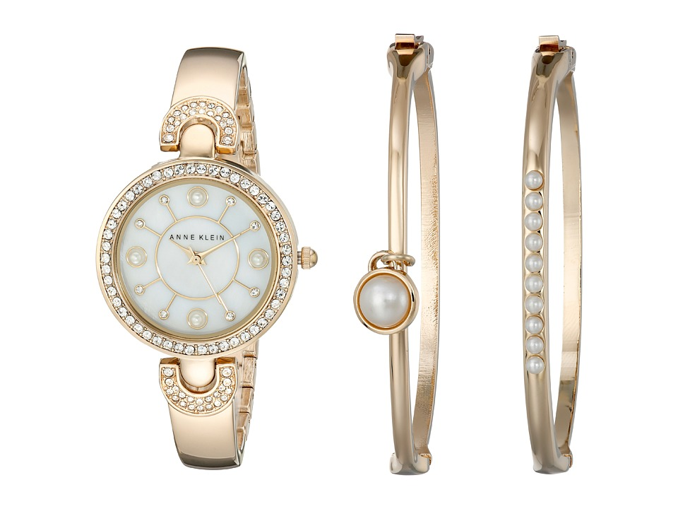 Anne Klein - AK-1960GBST (Gold-Tone) Watches