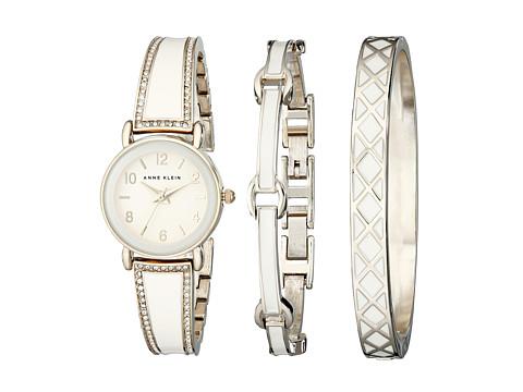 Anne Klein - AK-2052IVST (White) Watches