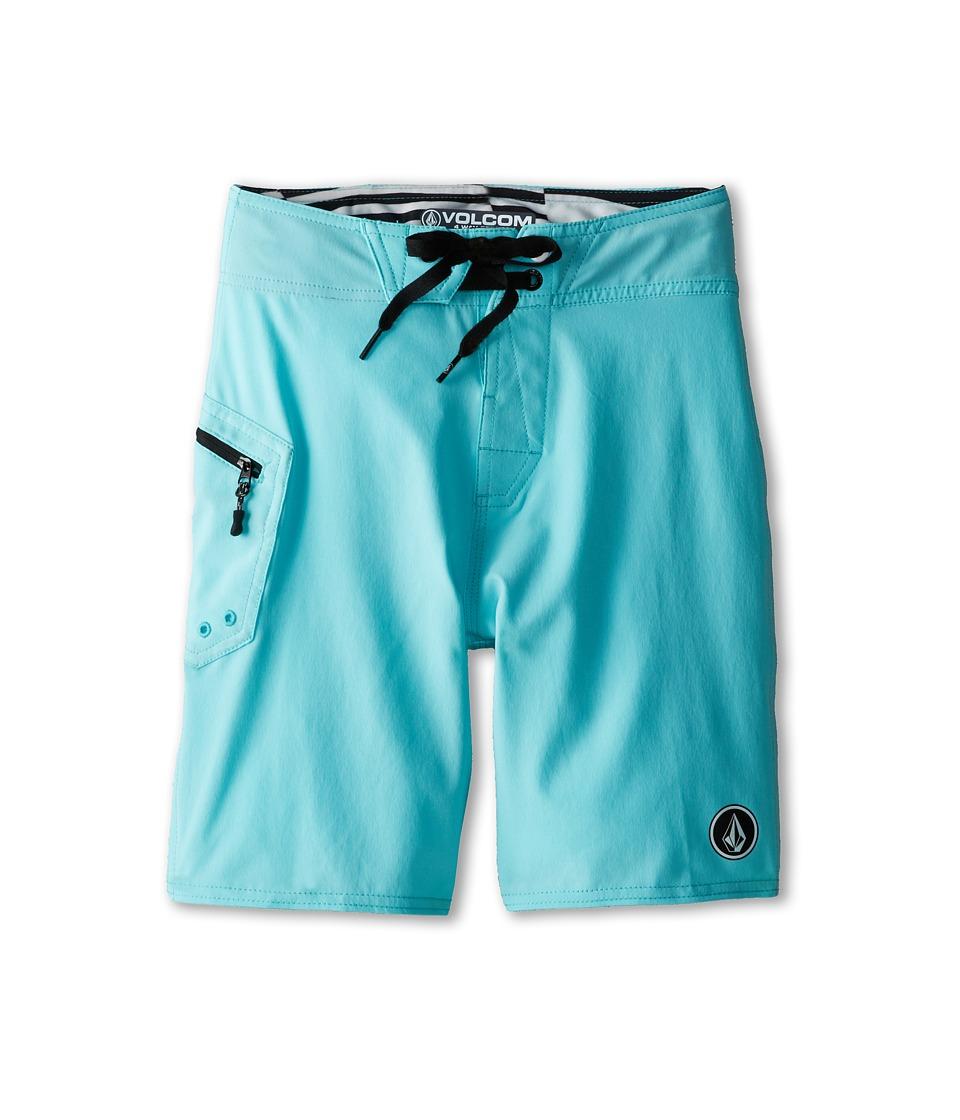 Volcom Kids - Lido Solid Boardshort (Big Kids) (Bright Turquoise) Boy's Swimwear