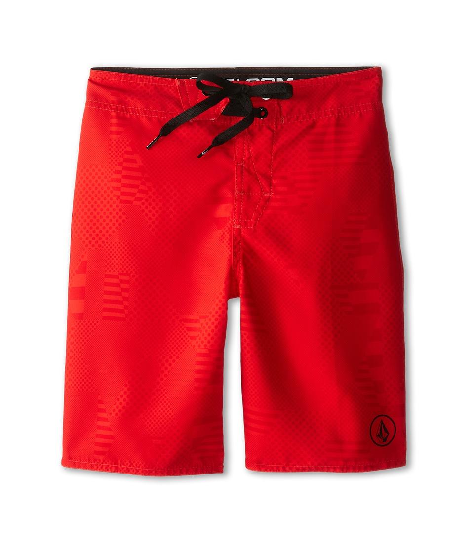 Volcom Kids - 38th St. Boardshorts (Big Kids) (Firecracker) Boy