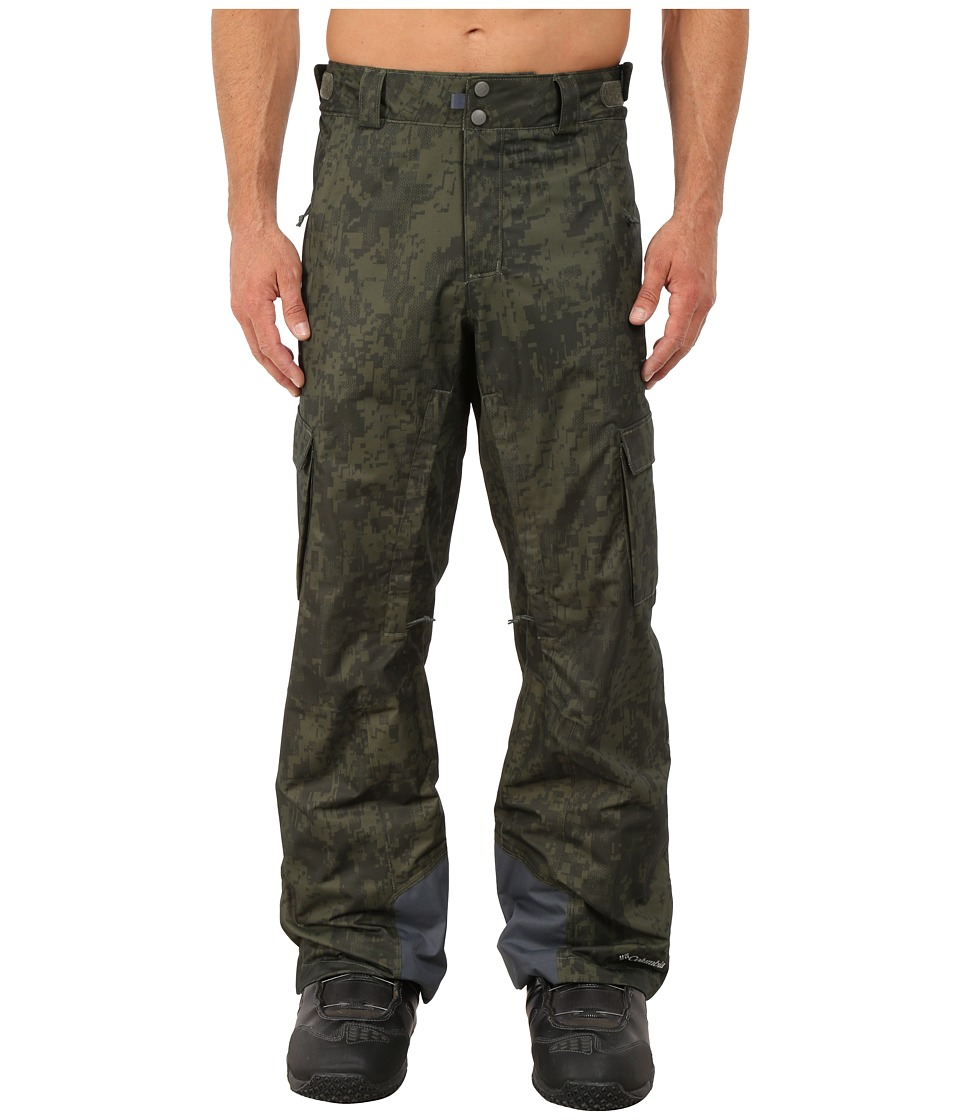 Columbia - Ridge 2 Run II Pant (Surplus Green/Digi Camo) Men