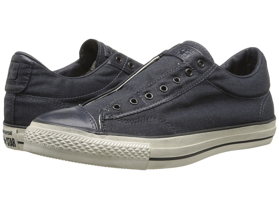 Converse by John Varvatos - Chuck Taylor All Star Vintage Slip-On - Burnished Canvas (Steel Blue) Shoes