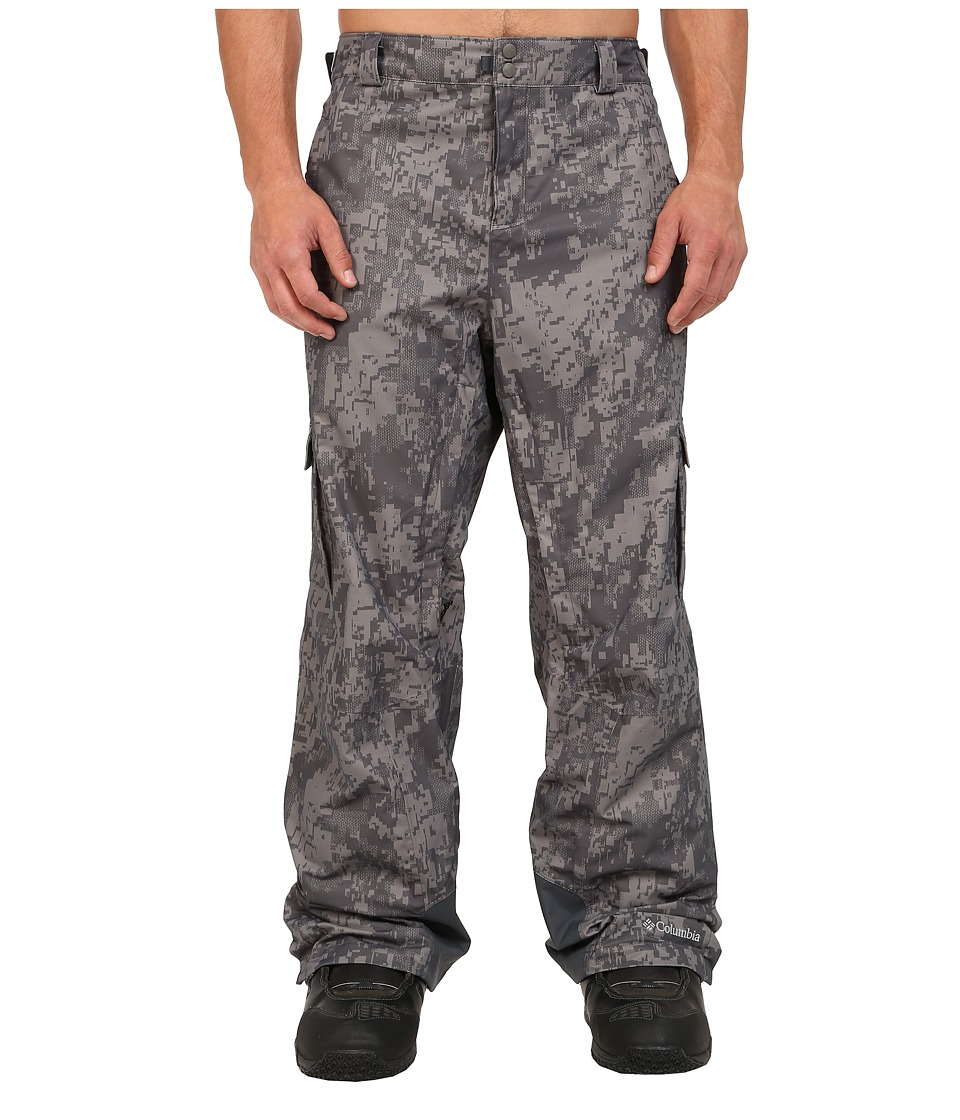Columbia - Big Tall Ridge 2 Run II Pant (Graphite/Digi Print) Men's Casual Pants