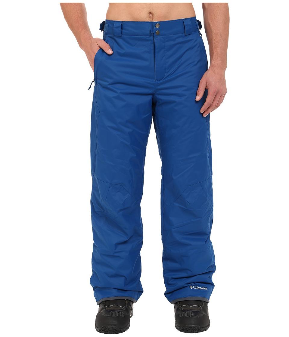 Columbia - Big Tall Bugaboo II Pant (Marine Blue) Men's Casual Pants