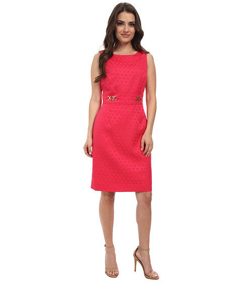 Tahari by ASL Petite - Petite Ivan Dress (Rose) Women's Dress