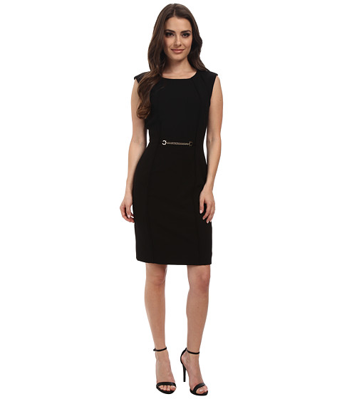 Tahari by ASL Petite - Petite Rick Dress (Black) Women's Dress