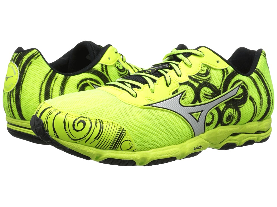 Mizuno - Wave Hitogami 2 (Neon Yellow/Silver/Black) Men