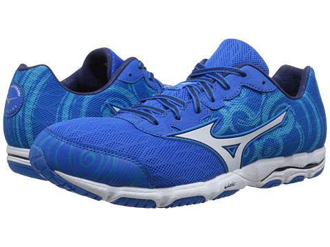 Mizuno - Wave Hitogami 2 (Electric Blue Lemonade/White/Blue Danube) Men's Shoes