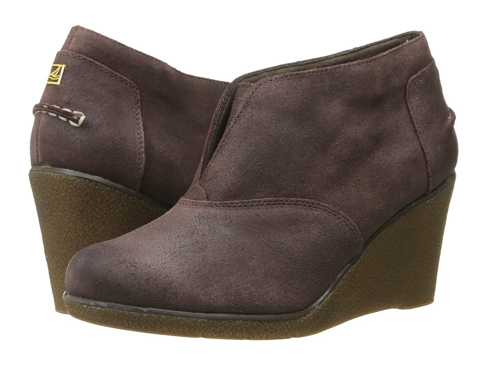 Sperry Top-Sider - Harlow Brook (Greige) Women's Lace-up Boots