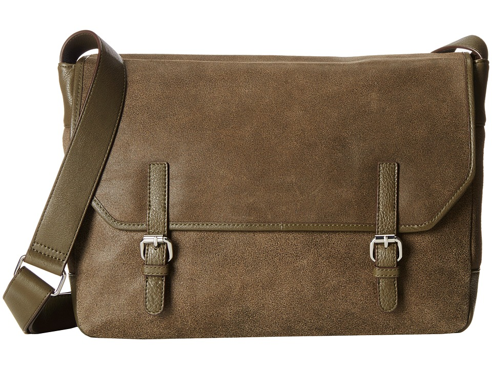 Lodis Accessories - Trevor Ben Messenger Bag (Olive) Messenger Bags