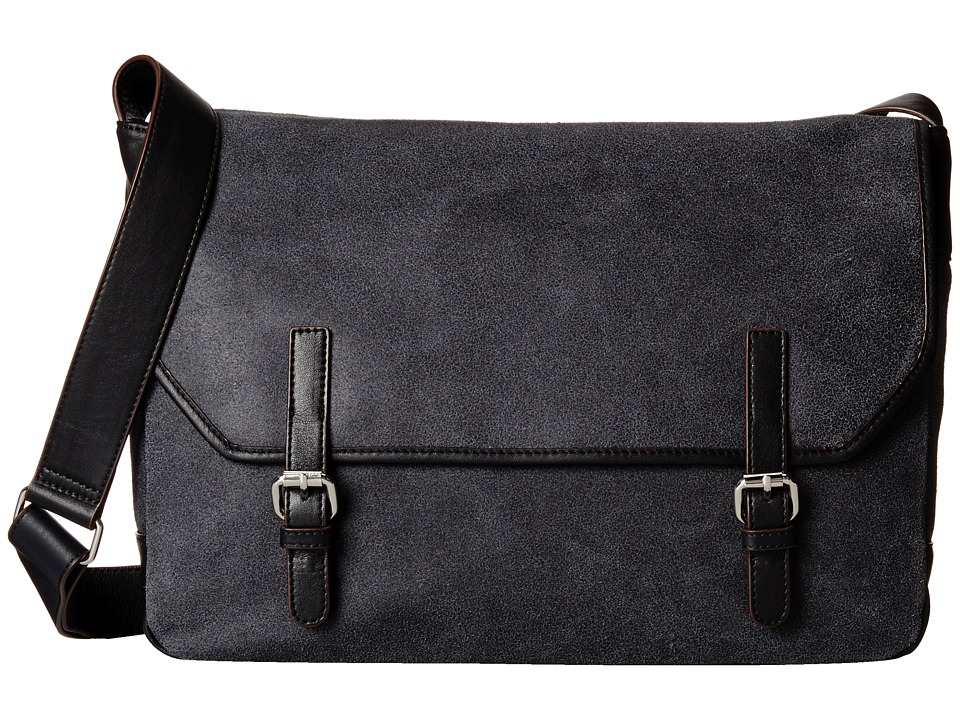 Lodis Accessories Trevor Ben Messenger Bag (Black) Messenger Bags