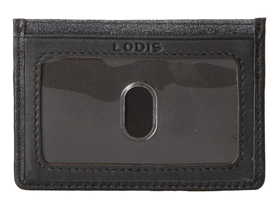Lodis Accessories - Trevor Mini ID Card Case (Black) Credit card Wallet