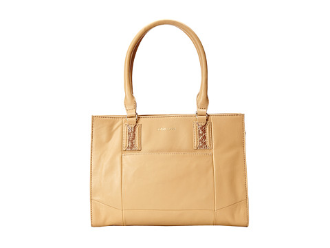 Cole Haan - Savannah Shopper (Tan/Snake) Tote Handbags