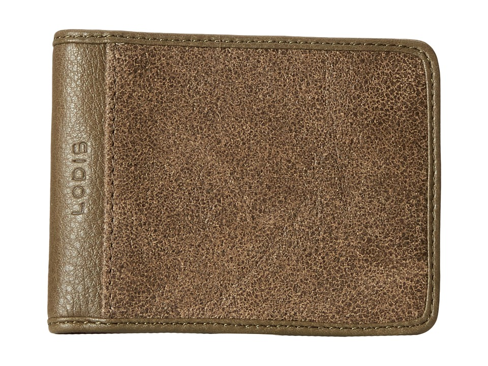 Lodis Accessories - Trevor Small Billfold (Olive) Bill-fold Wallet