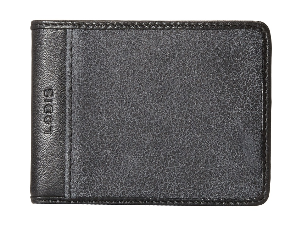 Lodis Accessories - Trevor Small Billfold (Black) Bill-fold Wallet