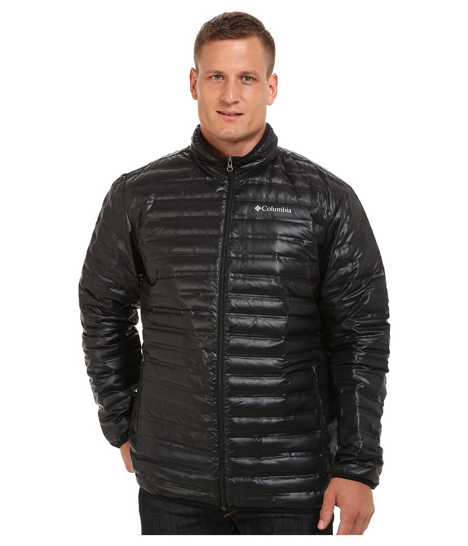 Columbia - Big Tall Flash Forward Down Jacket (Black) Men's Coat