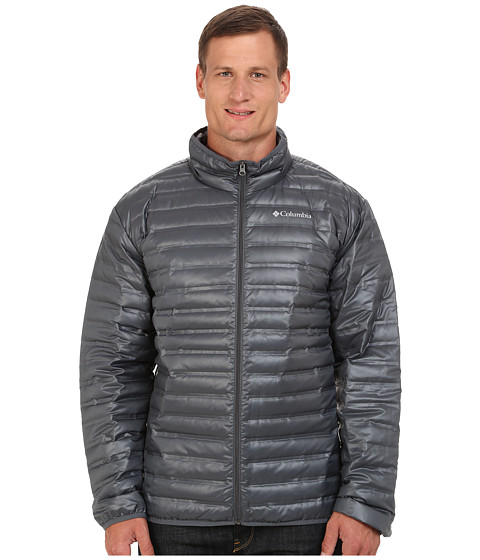 Columbia - Big Tall Flash Forward Down Jacket (Graphite) Men's Coat