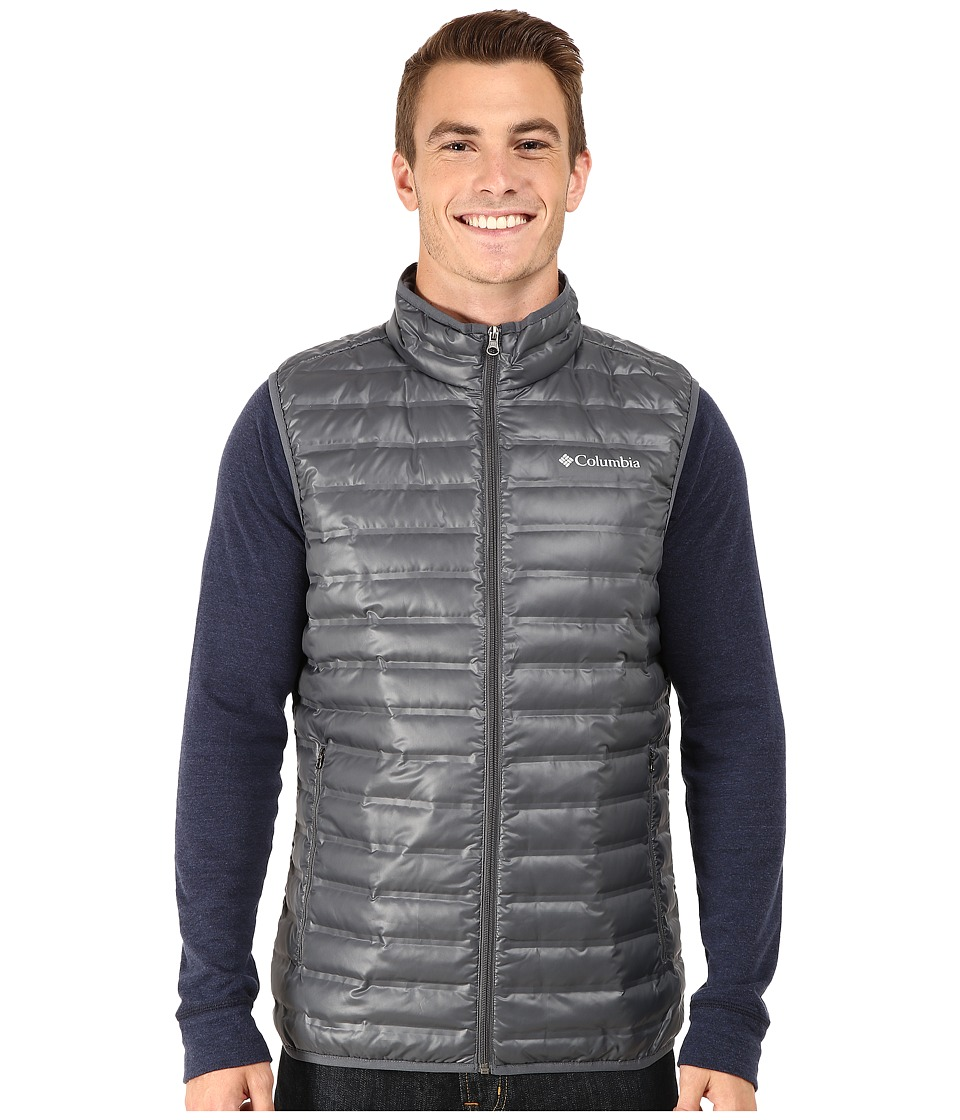 Columbia - Flash Forward Down Vest (Graphite) Men's Vest