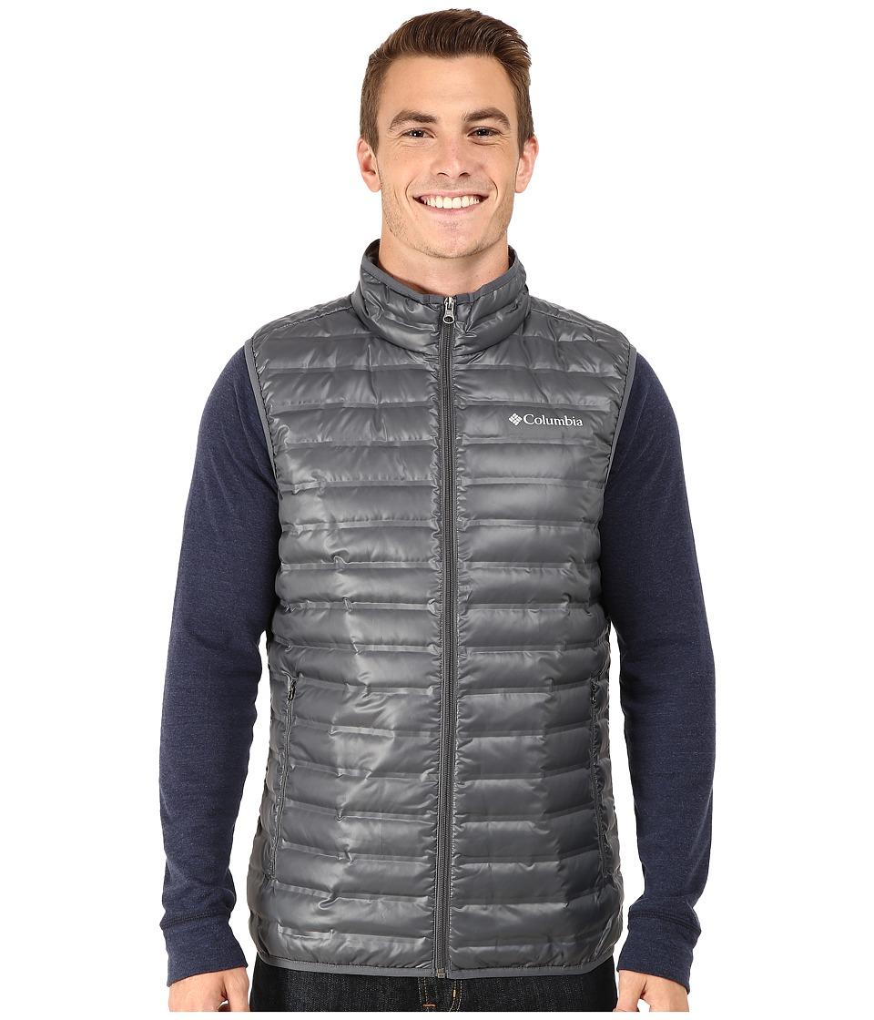 Columbia - Flash Forward Down Vest (Graphite) Men's Vest
