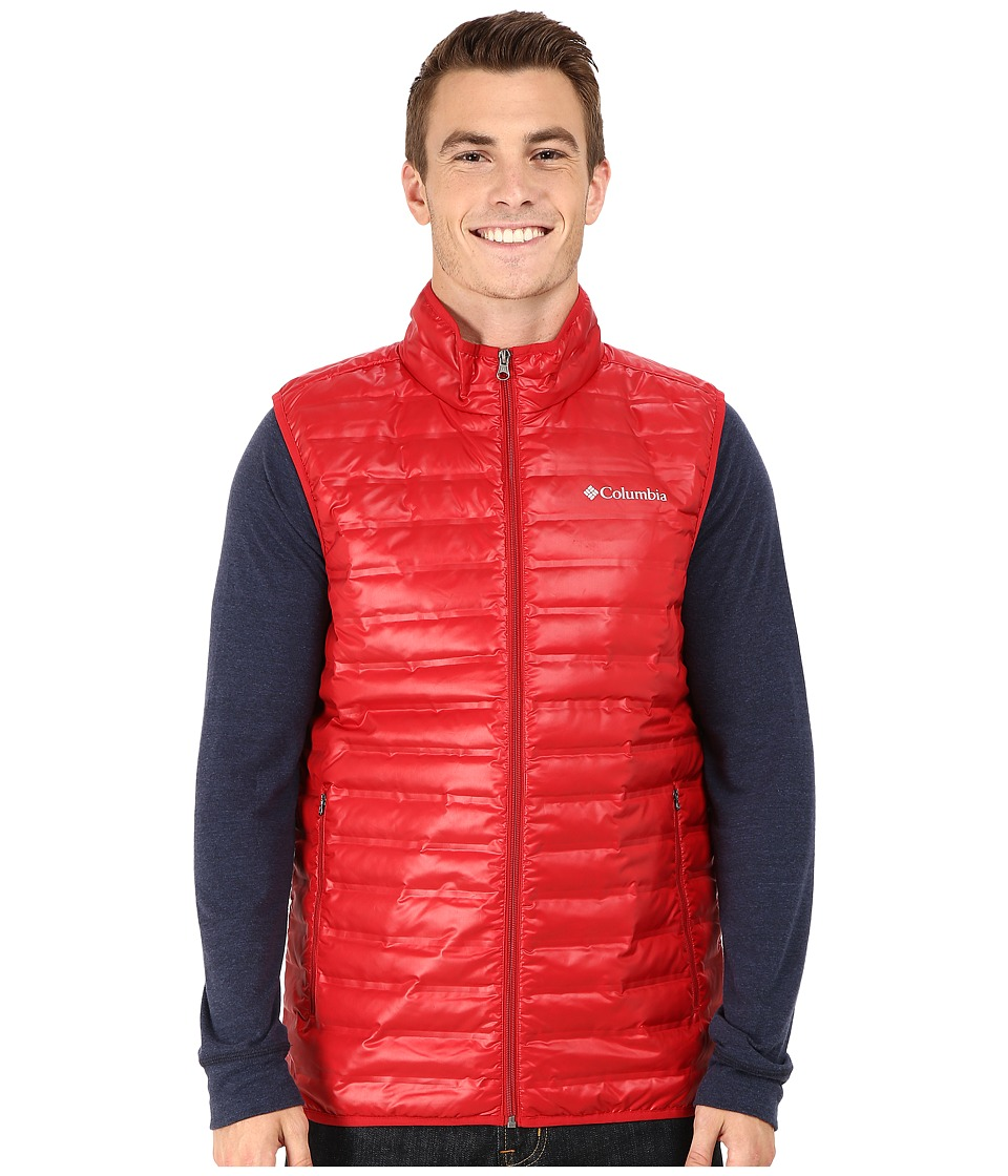 Columbia - Flash Forward Down Vest (Rocket) Men's Vest