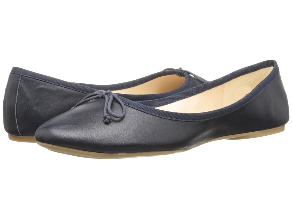 Nine West - Classica (Navy/Navy Leather) Women's Flat Shoes