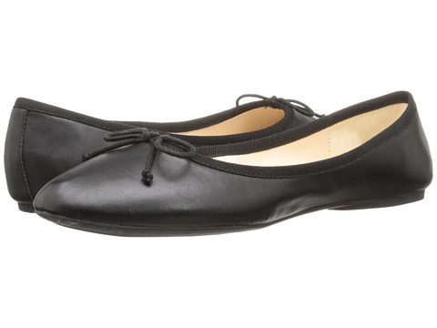 Nine West - Classica (Black/Black Leather) Women's Flat Shoes