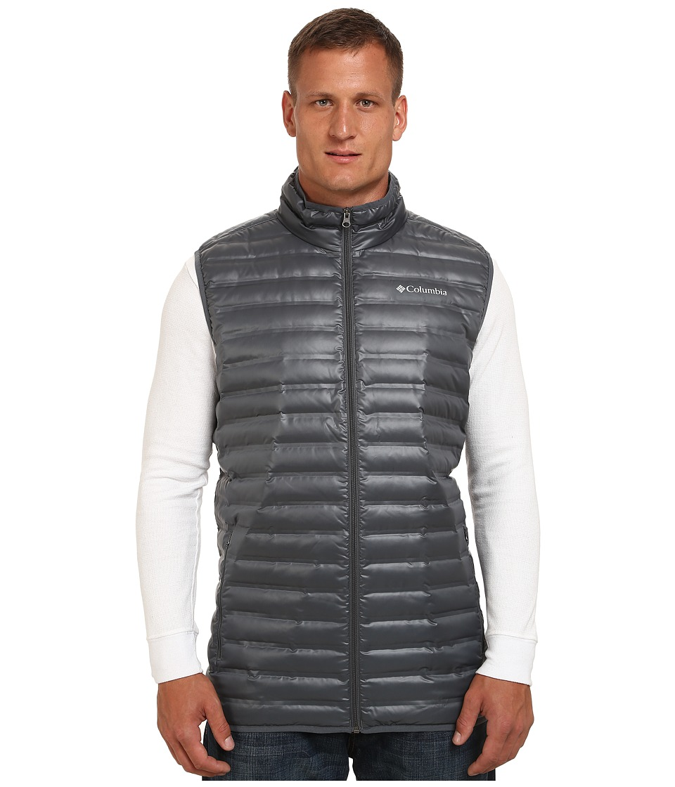 Columbia - Big Tall Flash Forward Down Vest (Graphite) Men's Vest
