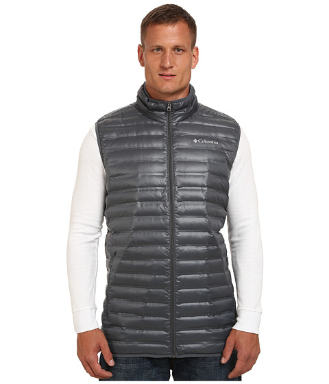 Columbia - Big Tall Flash Forward Down Vest (Graphite) Men
