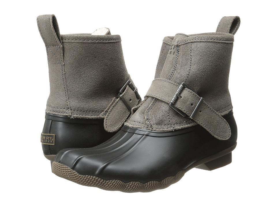 Sperry - Rip Water (Black/Graphite) Women's Rain Boots