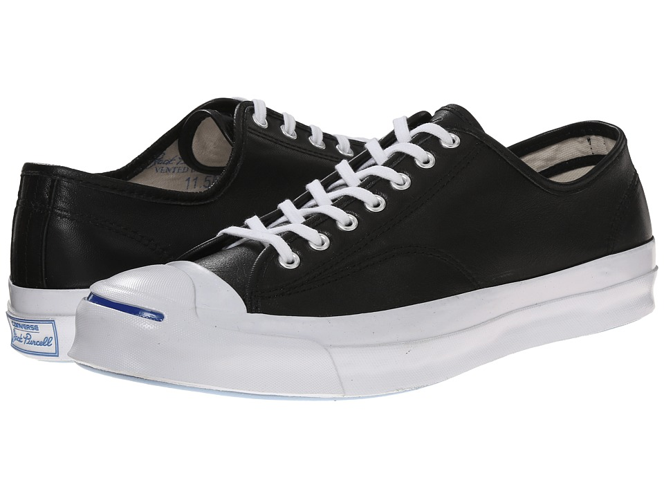 Converse - Jack Purcell Signature Ox (Black/White/Natural) Lace up casual Shoes