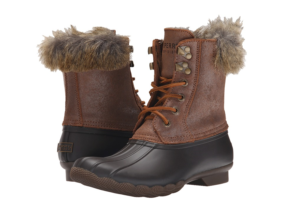 Sperry Top-Sider - White Water (Brown/Light Tan) Women's Cold Weather Boots