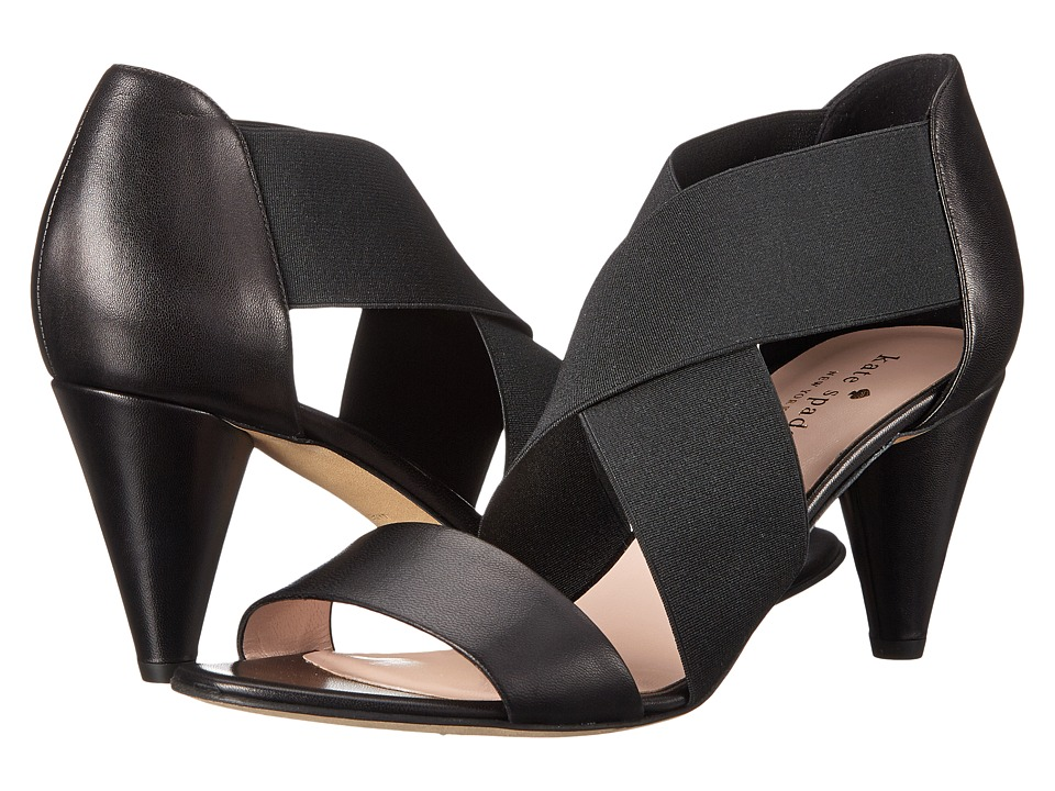 Kate Spade New York - Alicia (Black Nappa) Women's Sandals
