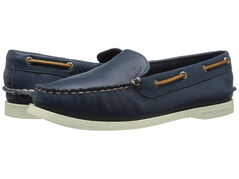 Sperry Top-Sider - A/O Milton (Navy) Women's Slip on Shoes