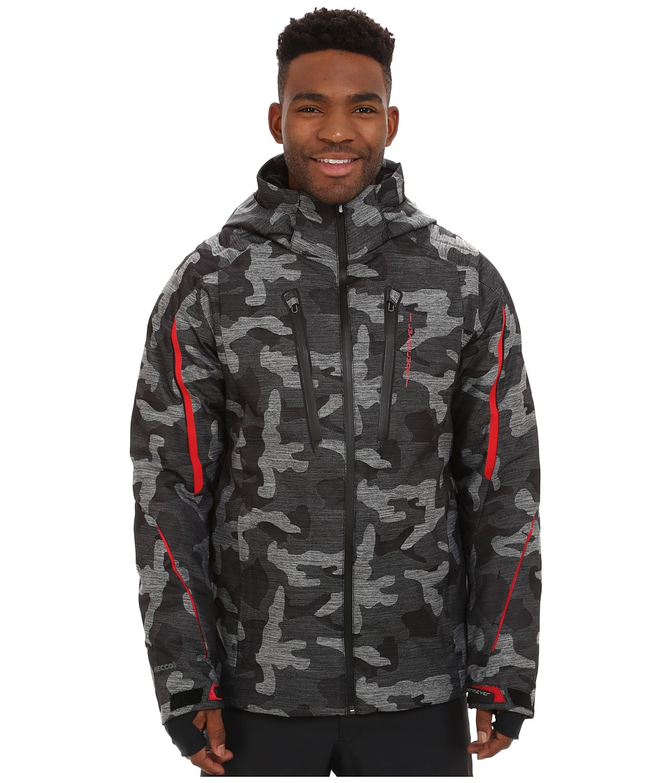 Obermeyer - Charger Jacket (Snow Camo) Men's Coat