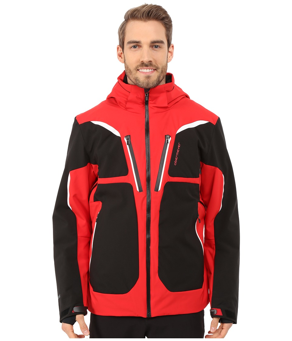 Obermeyer - Spartan Jacket (True Red) Men's Coat