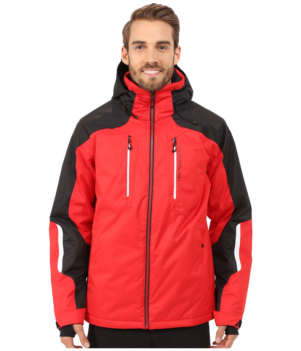 Obermeyer - Foundation Jacket (True Red) Men's Coat