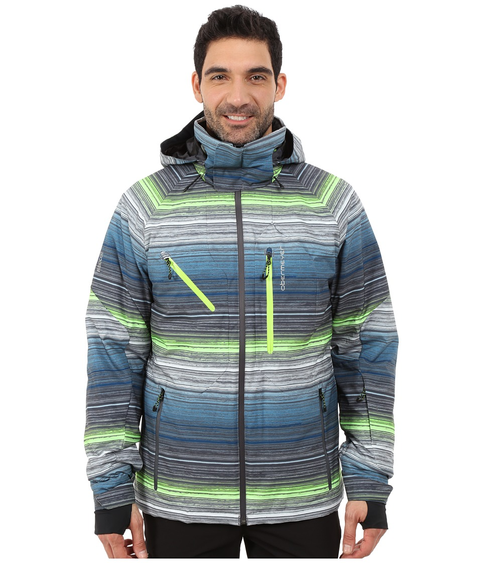 Obermeyer - Hunter Jacket (Jail Break Stripe) Men's Coat
