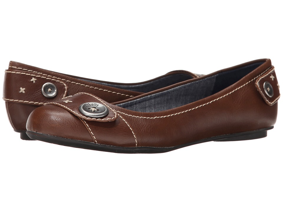 Dr. Scholl's - Fielding (Dark Tan) Women's Flat Shoes