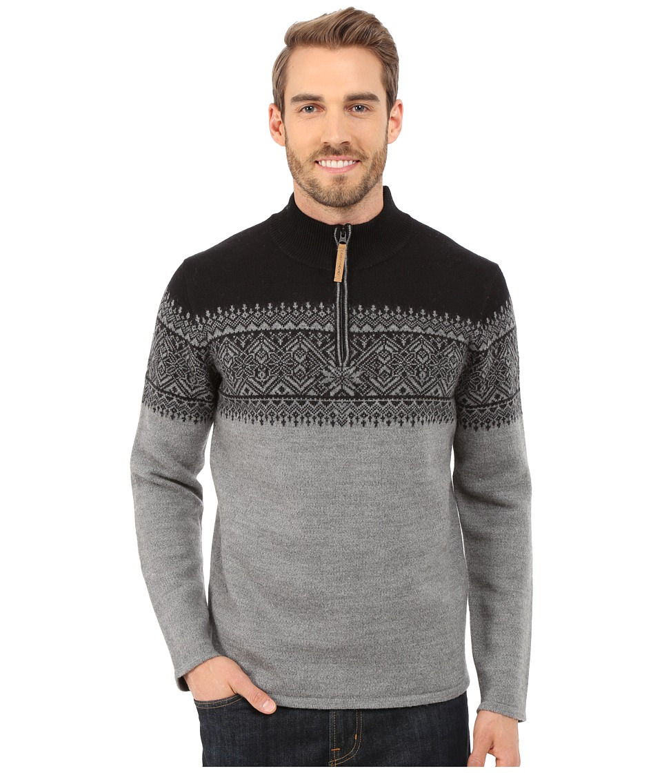 Obermeyer - Hemsedal 1/4 Zip Sweater (Heather Grey) Men