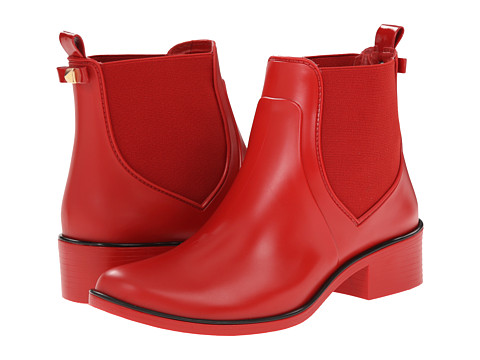 Kate Spade New York - Sedgewick (Cherry Liquer Red Matte Rubber) Women's Pull-on Boots