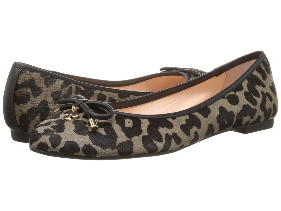 Kate Spade New York - Willa (Smoke/Black Leopard Print Haircalf) Women's Slip on Shoes