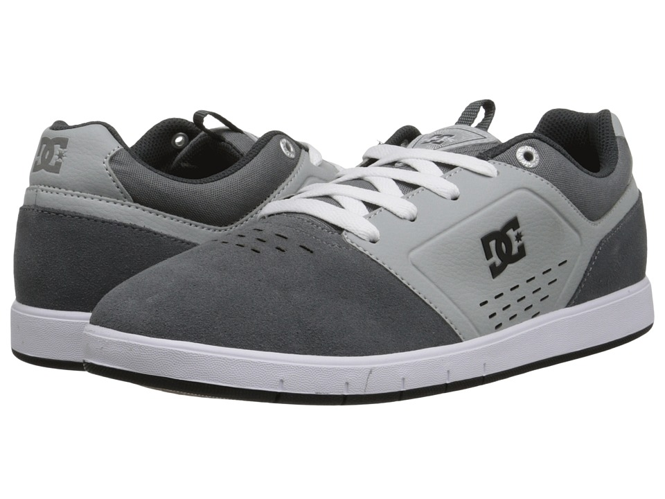 DC - Cole Signature (Grey) Men's Skate Shoes